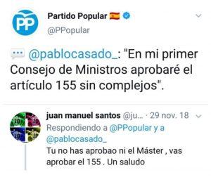 ZASCA a Pablo Casado