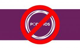 VOX quiere ilegalizar a PODEMOS como FRANCO a la democracia