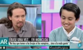 Un niño le pregunta a Pablo Iglesias cuánto dinero tiene en 'El programa de AR' y él responde así