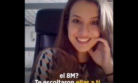Gloria Santiago, la podemita youtuber.