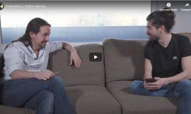 El youtuber FortFast entrevista a Pablo Iglesias