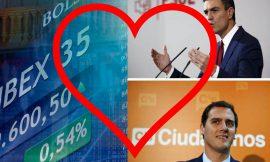 El Psoe tranquiliza al Ibex «estamos más cerca de Ciudadanos que de Podemos».