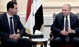 Putin le aconsejó a Assad que invite a Trump a Damasco