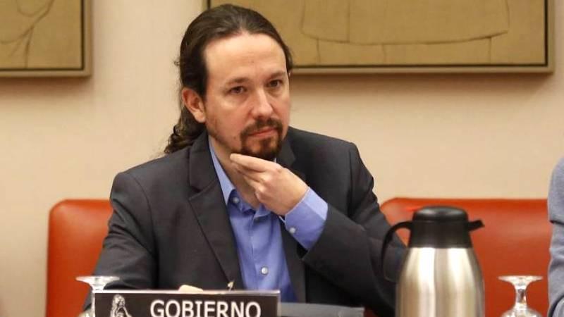 Pablo Iglesias garantiza un ingreso mínimo estatal para todos.