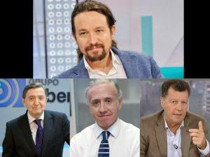 Pablo Iglesias enemigo público número uno.