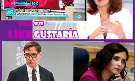 Ana Rosa «pide la dimisión» del Ministro de Sanidad y alaba a Ayuso.