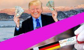El magnate Trump, no quiere que la cosa se desvié y presiona a una farmacéutica