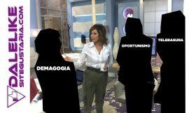 Ana Rosa y la indignación con el gobierno que no tuvo con su marido.