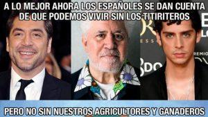 La escopeta patriota dispara ahora sobre los actores españoles, Paco León contesta a VOX mientras arde twitter