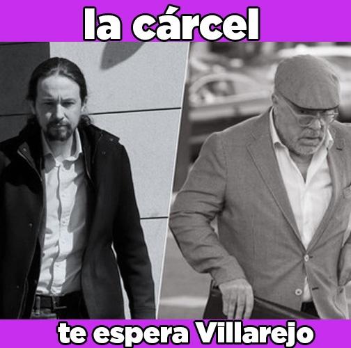 Pablo Iglesias amenaza a las cloacas del estado.