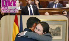 Vox pide un «golpe de estado» y excluir a Podemos del gobierno.