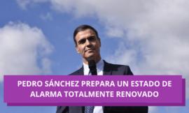 Pedro Sánchez prepara un Estado de alarma totalmente renovado