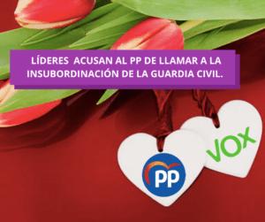 """""""Son como VOX"""", fue la acusación de Sánchez e Iglesias al PP"""