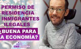 Pablo Echenique solicita normalizar la situación de inmigrantes ilegales