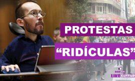 """Echenique pide a autoridades intervenir en """"ridículas"""" protestas del barrio de Salamanca"""