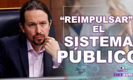Iglesias anuncia plan de choque para reimpulsar el sistema público de atención a la dependencia