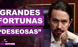 """Iglesias: """"Patriotismo fiscal"""" desean hacer las grandes fortunas al pagar más impuestos"""