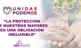 Unidas Podemos promueve medicalización de residencias de mayores en Madrid