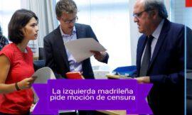 UNIDAS PODEMOS Y PSOE DE MADRID PIDEN A GABILONDO INTENSIFICAR LA OPOSICIÓN A AYUSO