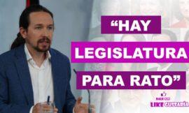 """Iglesias afirmó que Gobierno de coalición durará """"por lo menos"""" dos legislaturas"""