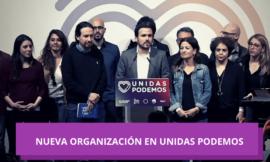 Nueva organización en Unidas Podemos