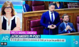 Ana Rosa sugiere quitar a Podemos del gobierno y en su lugar tener un pacto con el PP.