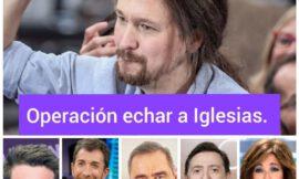 La derecha mediática unida contra Iglesias.