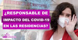Podemos responsabilizó a Ayuso de lo sucedido con las residencias en Madrid