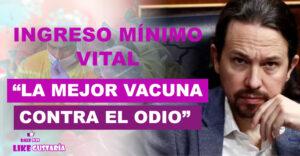 Iglesias: IMV demuestra que se puede hacer política de otra forma