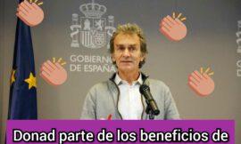 Fernando Simón, otra lección de humanidad de este gran científico.