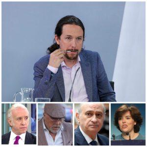 Pablo Iglesias pide ir al congreso para dar explicaciones sobre el caso Dina.