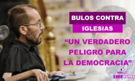 """Cómo un """"peligro a la democracia"""" califica Pablo Echenique los bulos y difamaciones contra Iglesias"""