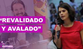 """""""Revalidado y avalado"""" el liderazgo de Iglesias al frente de Podemos"""