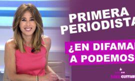 Ana Terradillos: Primera periodista en publicar informe PISA contra Podemos