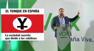 Reportaje sobre VOX y la irrupción de la extrema derecha en España y sus lazos con El Yunque