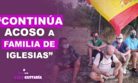 Continúan acosos a la familia de Pablo Iglesias ante la inercia de la Guardia Civil