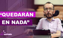 Pablo Echenique: Quedarán en nada todas las acusaciones que hoy se vierten contra Podemos