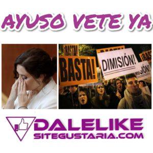 #AyusoDimisión se convierte en lo más visto en las redes.