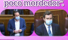 Pablo Iglesias a Vox: «Perro ladrador poco mordedor».