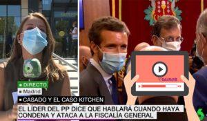 Pablo Casado NO habla sobre los casos de corrupción del PP