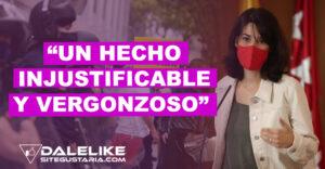 """Isa Serra rechaza violencia en contra de manifestantes en Vallecas y asegura que """"son las consecuencias de la estigmatización"""""""