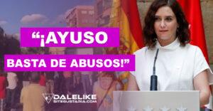 """Bajo la consigna """"¡Ayuso basta de abusos!"""" médicos de atención primaria en Madrid se van a la huelga"""