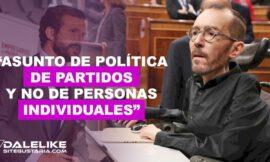 """Pablo Echenique considera prioritaria comparecencia de Casado en la Comisión de investigación por caso """"Kitchen"""""""