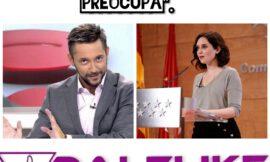 Javier Ruiz desenmascara a Ayuso con las trampas para dar los datos de contagiados en la Comunidad de Madrid.