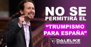 """""""¿Trumpismo para España? No lo permitiremos"""": Iglesias responde a Casado ante vinculación de Podemos con gobierno venezolano"""
