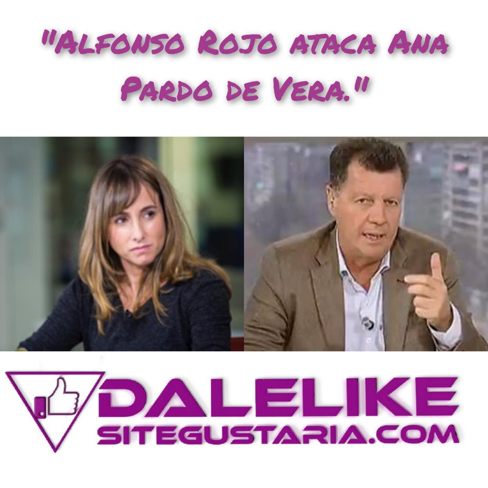 Alfonso Rojo ataca a Ana Pardo de Vera por hacer su trabajo y poner en apuros al portavoz de Vox.