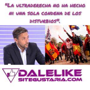 Javier Ruiz destapa quién está detrás de los disturbios en España.