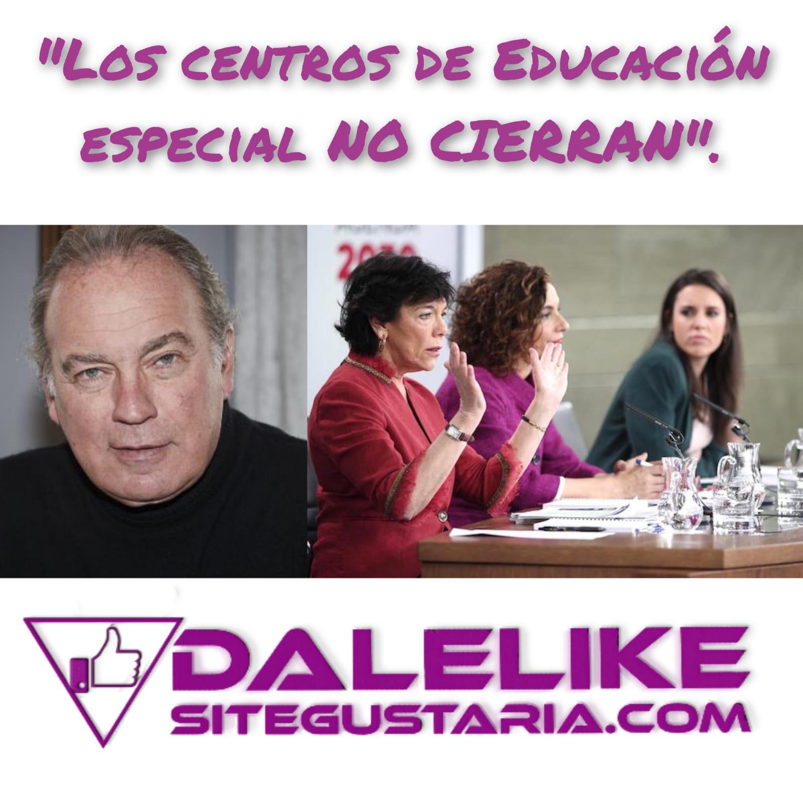 Bertín Osborne miente en un video en el que afirma que los centros de educación especial cerrarán con la Ley Celaá.