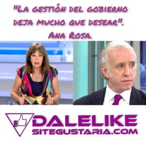 Ana Rosa Quintana y Eduardo Inda siguen a la caza del gobierno.
