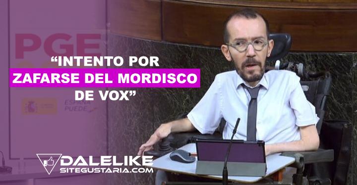 """Apoyo de Ciudadanos a los PGE representan un """"intento por zafarse del mordisco de Vox"""""""